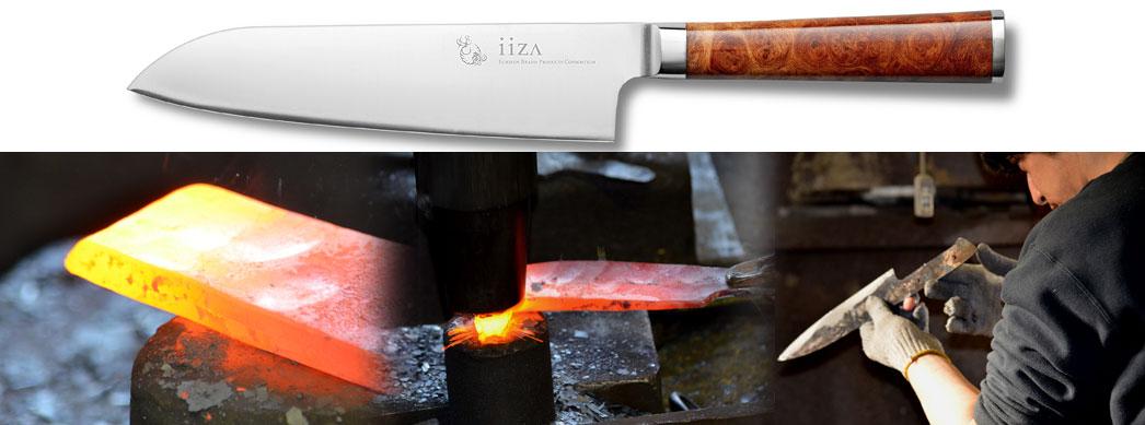 Výroba nože Iiza