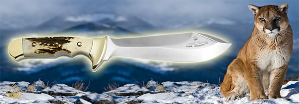Baner s nožem PUMA